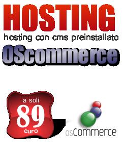 Hosting oscommerce preinstallato by Anyweb.it